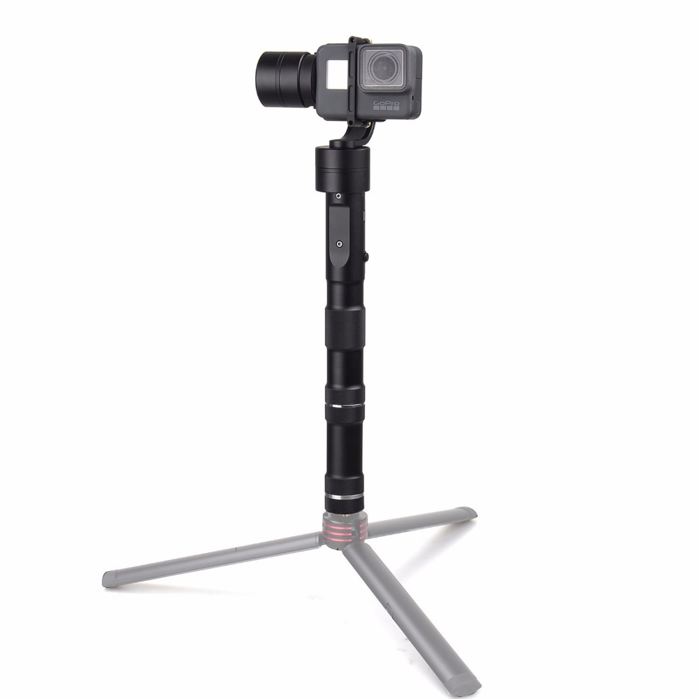Zhiyun Z1 EVOLUTION 3 Axis Gimbal Brushless 320 Degree Moving Handheld Gimbal Stabilizer for GoPro sjcam YI Action Cameras zhiyun z1 rider2 3 axle handheld brushless gimbal for skiing