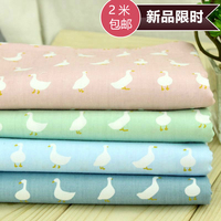 160x100cm Japanese Cotton Fabric Twill Printed Fabric For Patchwork DIY Craft Bed Sheet Kids Sleepwear Cushion