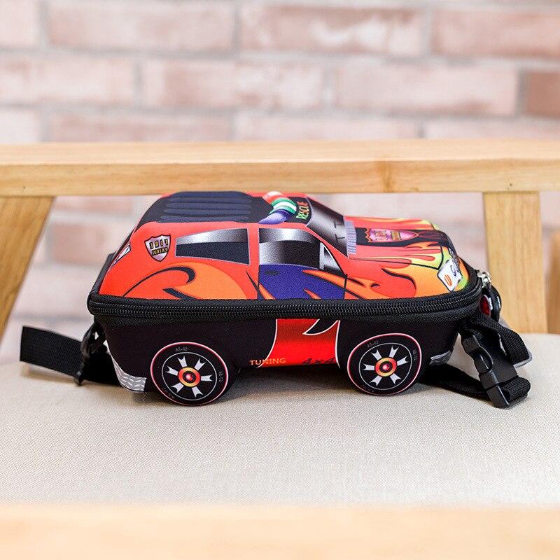 mochila escolar menino 3D Car children school bags  1