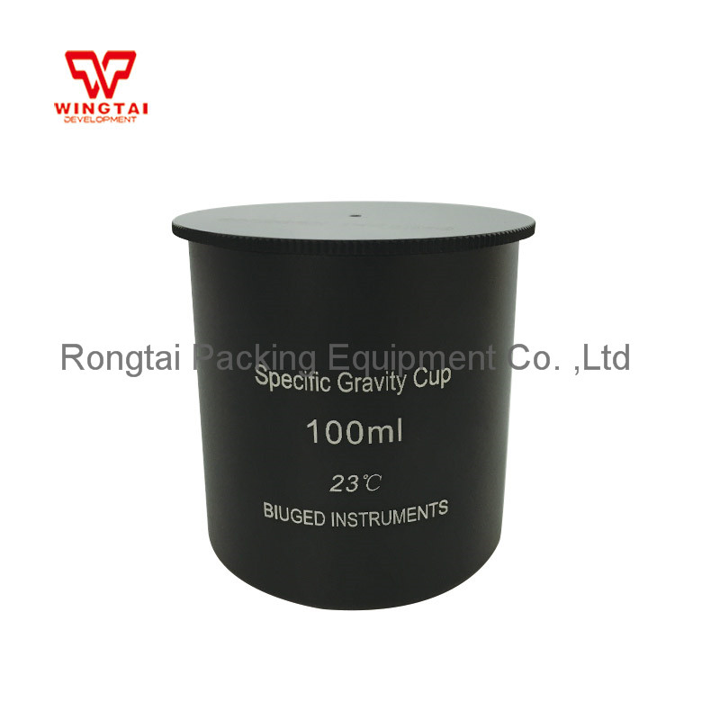 Aluminium Dichtheid Maatbeker 37cc/ml 50cc/ml 100cc/ml Specifieke Gravity Cup Hoge Precisie Dichtheid Cup voor Lab Testen - 3