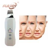 Ultrasonic Purificador Da Pele Ultrasound Pele Facial Cleaner Anion Ultrasonic Descamação Da Pele do Rosto Massageador Facial Scrubber