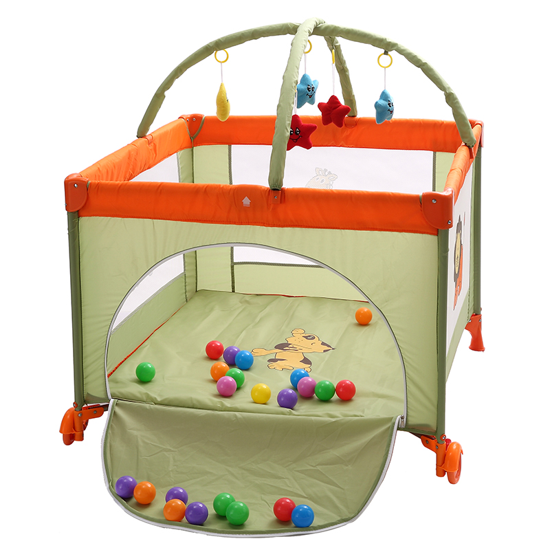 Folding multifunctional baby bed portable game bed large child bed twin bed bed