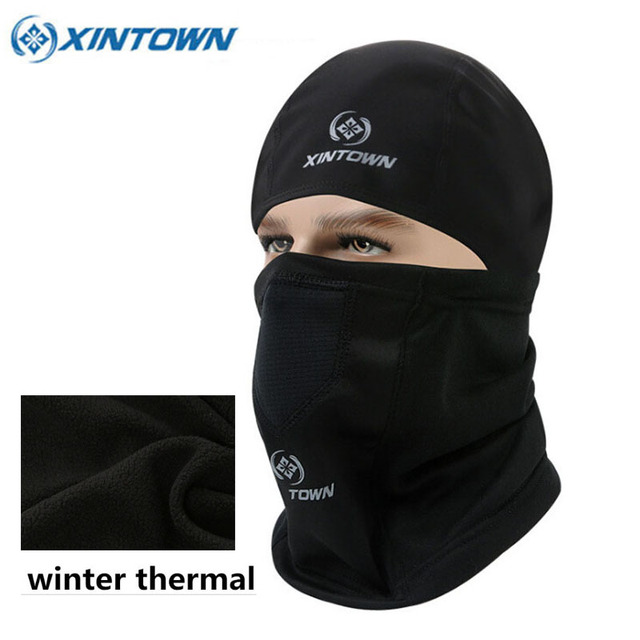 XINTOWN Winter Face Mask Warm Thermal Fleece Bike Head Cover Sport Hiking  Camping Running Masks Bicycle Cycling Face Mask 8e350e87ba1