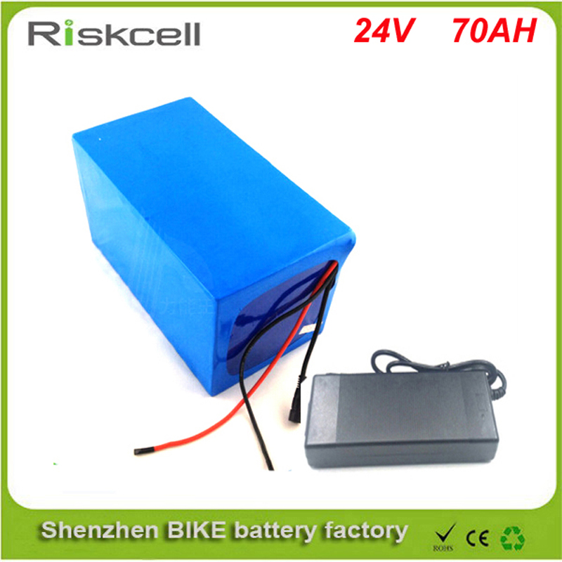 ebike lithium battery 24v 70ah lithium ion bicycle 24v 700w electric scooter battery for kit electric bike with BMS 5A Charger 48 volt li ion battery pack electric bike battery with 54 6v 2a charger and 25a bms for 48v 15ah lithium battery