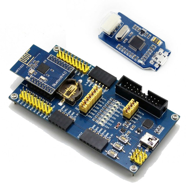 US $38 59 |ARM Debugger Programmer + NRF51822 Eval Kit nRF51822 Bluetooth  Module BLE4 0 2 4G Wireless Evaluation Board-in Demo Board from Computer &