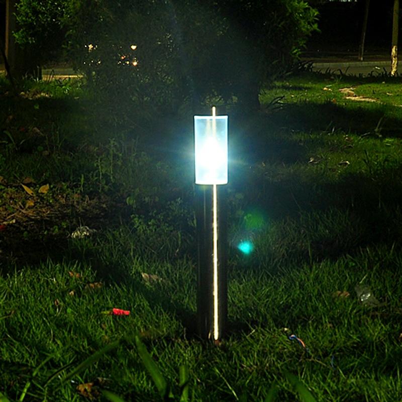 Street Lamp Grass Garden Outdoor Lawn Bollards Villa E27