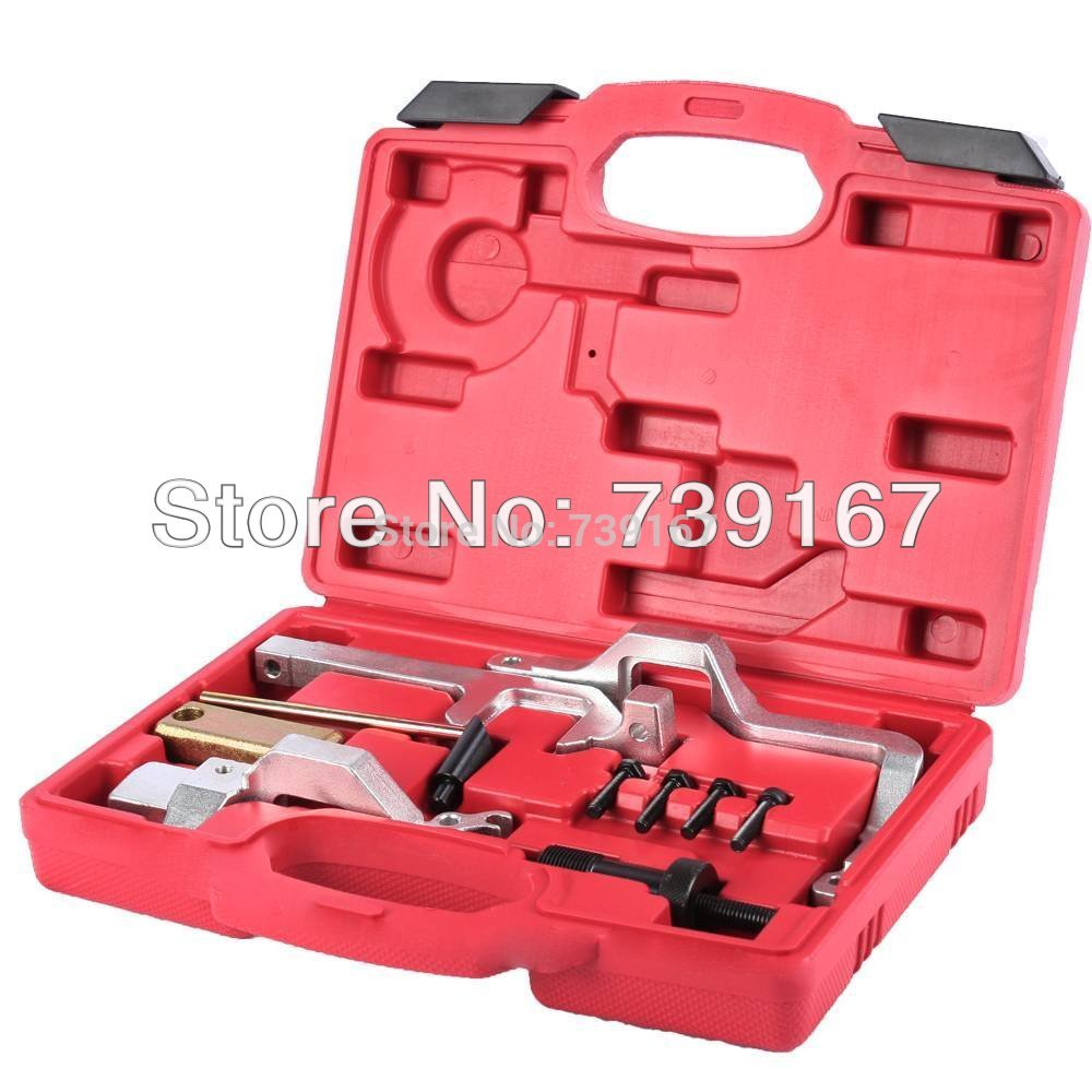Engine Timing Tool Kit For BMW N14 Mini 1.4, 1.6 N12, N14 & PSA Engine Repair Tool MINI COOPER N12/N14 CITROEN PEUGEOT ST0046 car petrol engine timing belt drive tool kit for ew engine code citroen peugeot 1 8 2 0 at2161