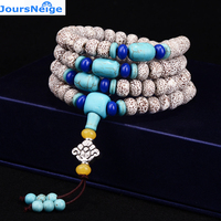 Wholesale Hainan XingYue Natural Bodhi Bracelets 108 Beads High Density Wood Necklace Lucky for Men Women Original Jewelry