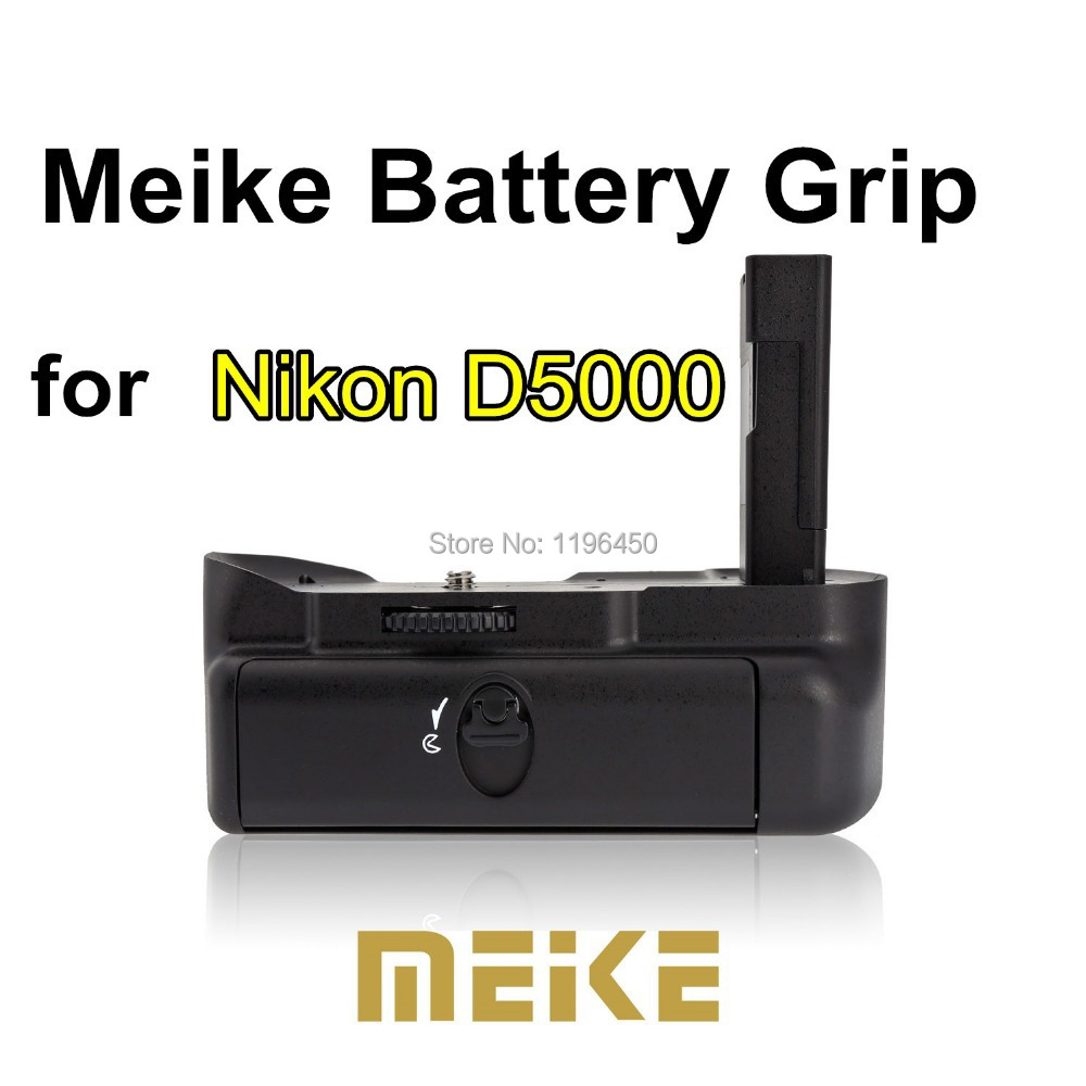 MEKE Meike MK D5000 Vertical Battery Grip Holder for Nikon D5000 EN-EL14 free shipping ...