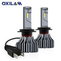 OXILAM 9000LM Fanless H7 LED Headlight Headlamp H7 Led Canbus Error Free Car Light Bulb Fog Lamp 40W 6000K White DC 12V 24V