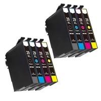 8 PCS 29 29XL T2991XL For Ink Cartridges XP235 XP247 XP245 XP332 XP335 XP342 XP345 XP435