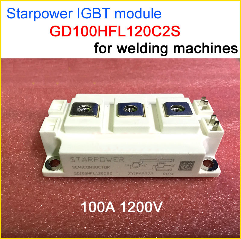 Best quality GD100HFL120C2S IGBT module 100A 1200V accessories for inverter welding machine free shipping 1pcs lot 6mbi20gs 060 module igbt best quality