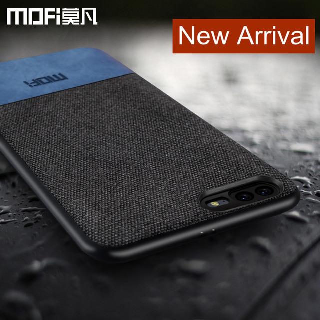 MOFi OnePlus 5 Luxury Fabric Shockproof Back Case Cover