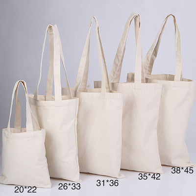 1PC High-Quality Handbags Canvas Tote Bags Reusable Cotton Grocery High Shopping Bag
