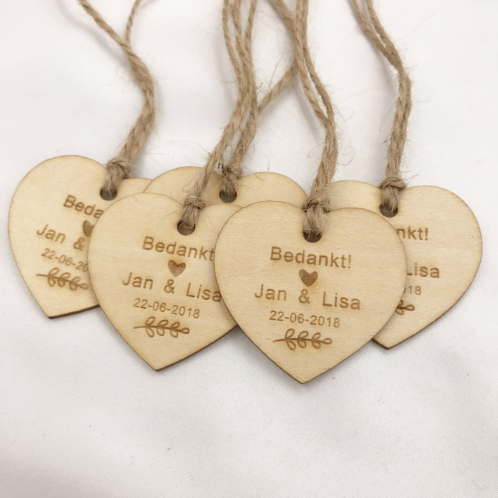 Personalized Wedding Favor Tags Rustic Bridal Shower Favor Tags