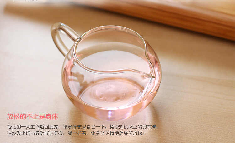 1 шт, 250 мл, прозрачная термостойкая стеклянная чашка, специальное предложение, стеклянная чайная чашка кунг-фу JN 1028