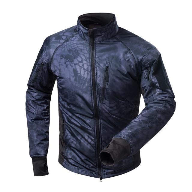 MEGE Men's Waterproof Military Tactical Jacket Men Warm Windbreaker Bomber Jacket Camouflage Hooded Coat US Army chaqueta hombre 60