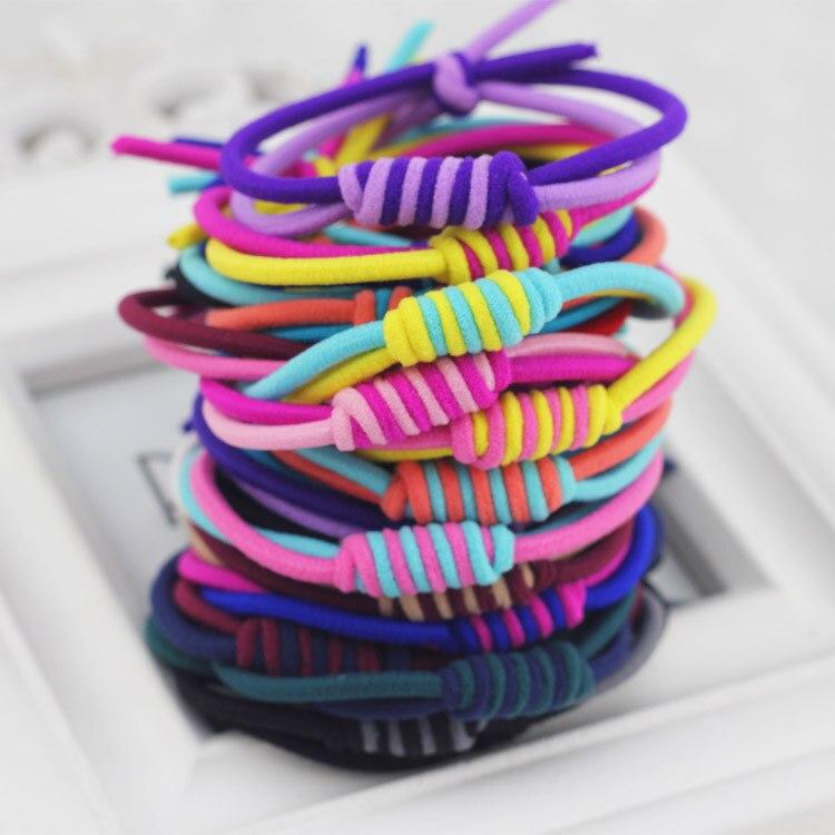4pcslot Colorful Hair Ornaments Bandage Head Kids Girls Headband