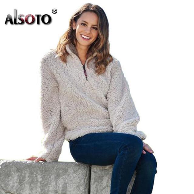 ALSOTO Autumn Women Fashion Sweatshirt oversized hoodies moletom femini sudadera mujer Pullover bts harajuku kawaii Sweatshirts