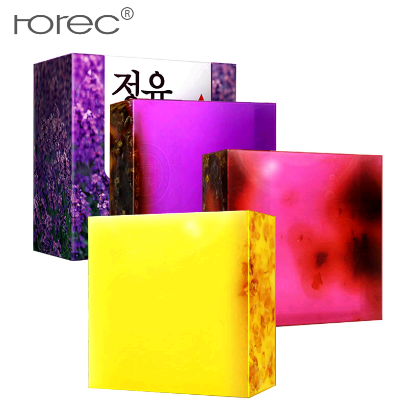 ROREC Manual Facial Soap essential oil Face Cleansers Skin Care oil control Black Head Remover Deep Cleansing Whitening Beauty