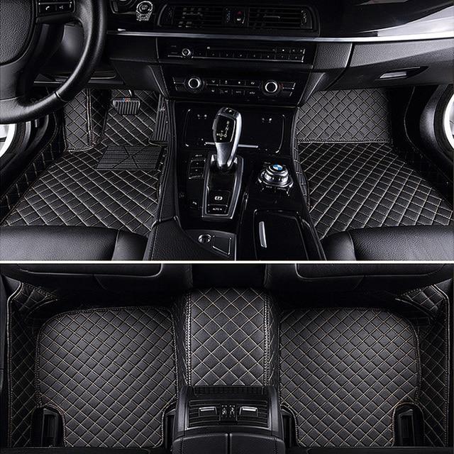 Custom Fit Car Floor Mats For Tesla Model S X 5 6 7 Seats Suv High
