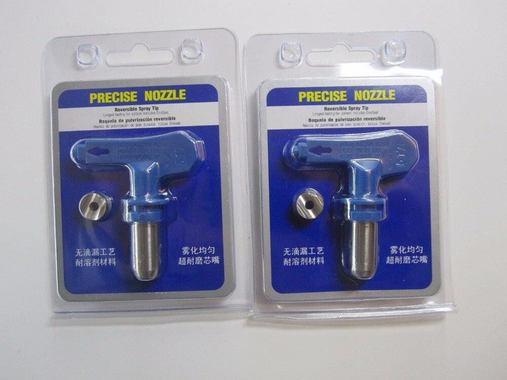 1X 317-515 327/339/415/437/445/509/511 High-pressure Airless Spray Gun Nozzle Sprayer Machine Accessories Paint Gun Precise Tip