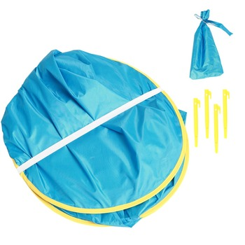 Baby Beach Tent Uv-protecting Sunshelter With A Pool Baby Kids Beach Tent Pop Up Portable Shade Pool UV Protection Sun Shelter 5