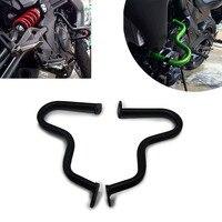 For Kawasaki ER 6N 2012 2013 2014 2015 Motorcycle Engine Protetive Guard Crash Bar Protector Black