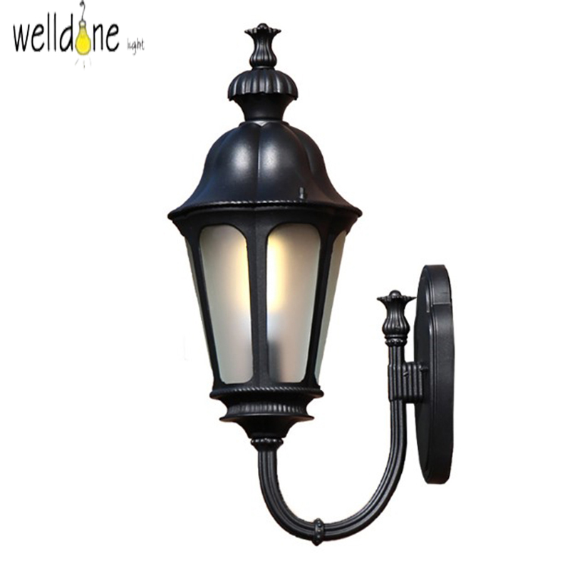 LED water proof alluminum wall lamp for garden europea style good quality froe shinpping