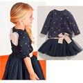 Summer Girl Skirt Set Dot Lace Girls Summer Clothes Bow Vetement Enfant Fille Infant Girl Clothes Panda Girls Sets
