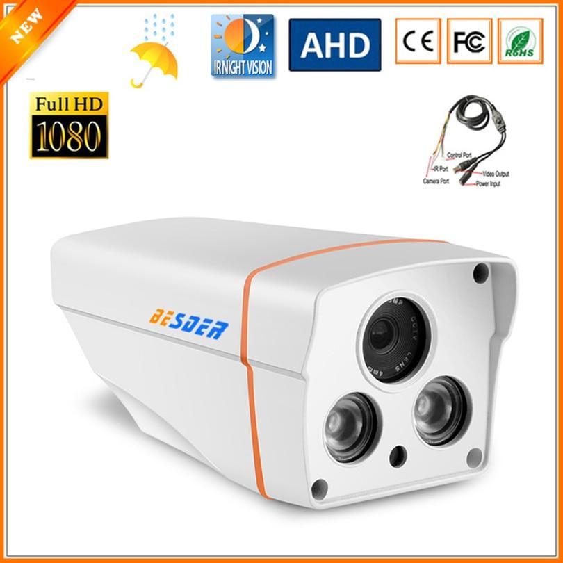 Ultra Bassa Illuminazione 1/2. 8 ''SONY IMX323 3000TVL AHD Fotocamera 1080 P Full HD CCTV Di Sorveglianza Di Sicurezza con Cavo OSD-in Telecamere di sorveglianza da Sicurezza e protezione su  Gruppo 1