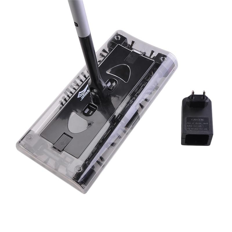 Edelstahl Kehrmaschine Push-Typ Hand Push Magie Besen Kehrschaufel Griff Haushalt Reinigung Paket Hand Push Kehrmaschine