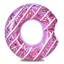 Inflatable Donut Swimming Ring Giant Pool Float Toy Circle Beach Sea Party Inflatable Mattress Water Adult Kid(China)