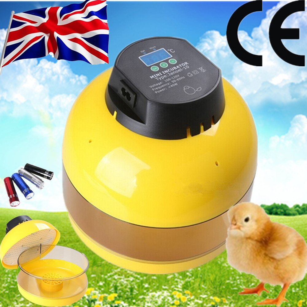 Hot sale JN10 high quality with good price mini egg incubator CE Certificate hot sale good quality inductive