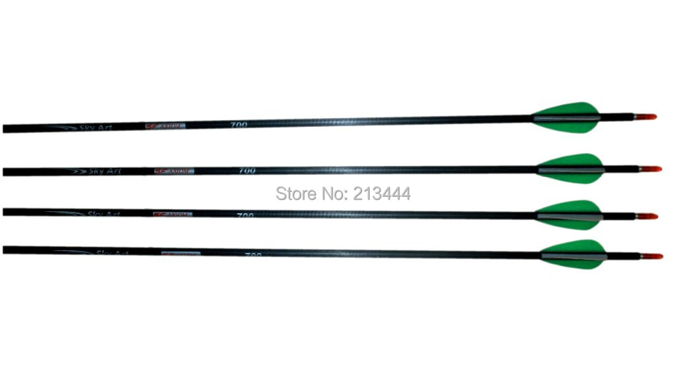 Carbon Arrows I.D. 4,2 mm 700 - Jacht