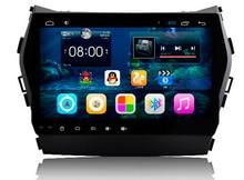 For 9″ 1024*600 Quad Core Android 4.4 Car DVD Player GPS Navigation For Hyundai IX45 Santa Fe 2013 2014 Radio Bluetooth RDS WIFI