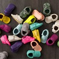 2017 Tassels 26-Color PU Leather Baby Shoes Baby Moccasins Newborn Shoes Soft Infants Crib Shoes Sneakers First Walker
