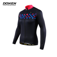2017 Donen New Long Sleeve Bike China Team Mens Shirts Design Your Own Custom Jerseys Cycling