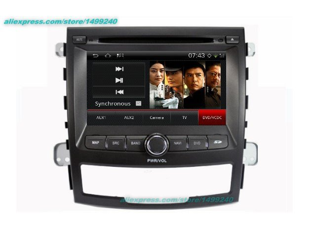 For SsangYong Korando 2010~2013 - Car Android GPS Navigation Radio TV DVD Player Audio Video Stereo Multimedia System image