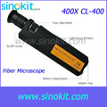 Handheld 400x Magnification Fiber Optical Inspection Microscope Coaxial illumination (CL) - CL-400