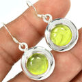 Hand make  Genuine Prehnite Pendant ,100% 925 Sterling Silver, 3 3mm,  5.8g,  KP0179