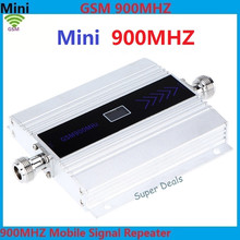 Hot sale 2pcs/lot 2G 900MHz 900 mhz GSM Mobile Phone Cell Phone signal Booster Repeater gain 60dbi LCD display for house office