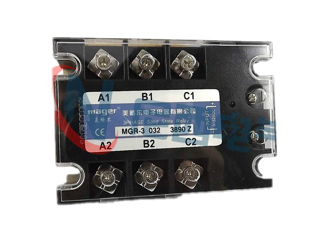 mager Three-phase solid state relay DC control AC MRSSR-3 MGR-3 032 3890Z 90A mager genuine new original ssr 80dd single phase solid state relay 24v dc controlled dc 80a mgr 1 dd220d80