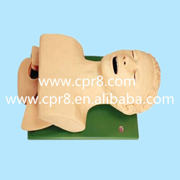 BIX-J5S Airway Lntubation Manikin (Teeth Compression Alarm Device), Trachea Cannula Model infant airway management model medical airway training model
