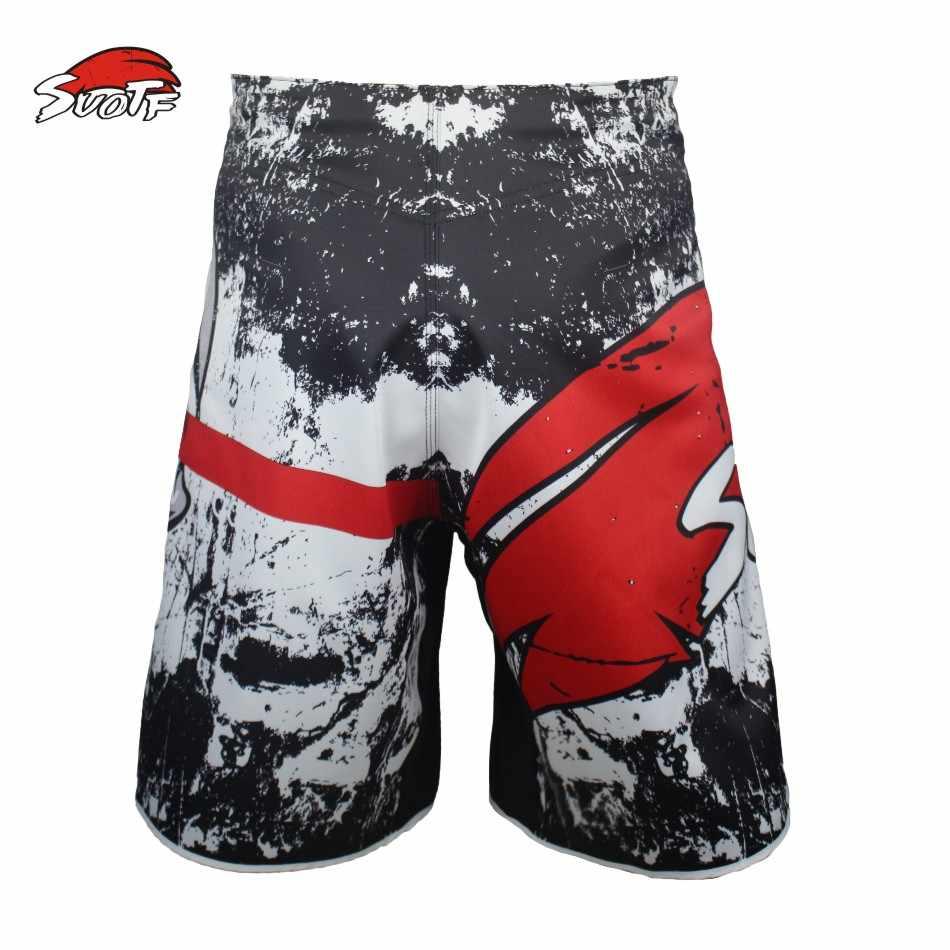 SUOTF De nieuwe training Muay Thai vechten fitness Combat sport broek Tiger Muay Thai boksen kleding shorts mma pretorian boxeo