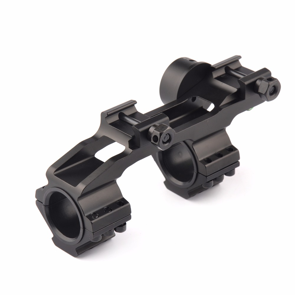 3 Model 25.4/30mm Scope Ring Base Mount with Angle Indicator and Spirit Buble Level for Hunting Accessories