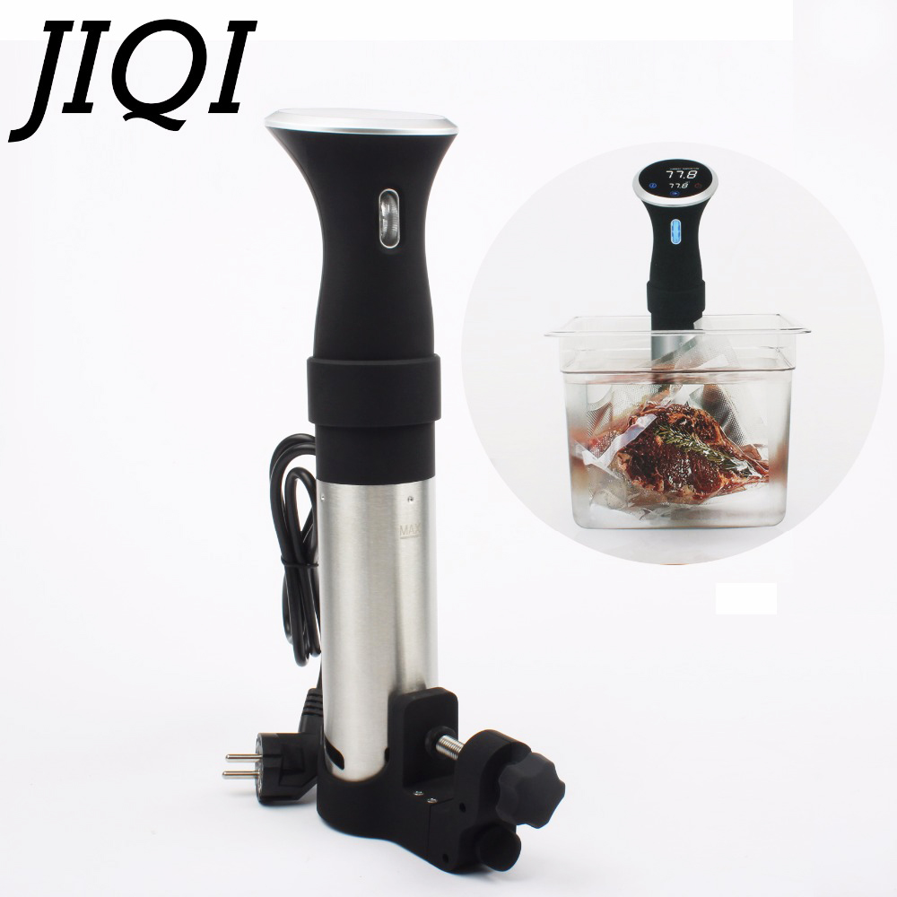 JIQI food Sous-vide Precision cooker Low temperature slow cooking machine 1000w beef steak baking processor 110V 220V EU US plug thgs digital kitchen probe thermometer food cooking bbq meat steak turkey wine