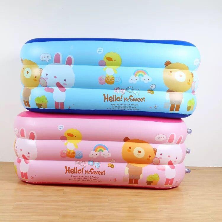 130*92 cm dessin animé pop enfant piscine bébé piscine à manger poussette infantile Portable jeu tapis canapés apprendre tabouret