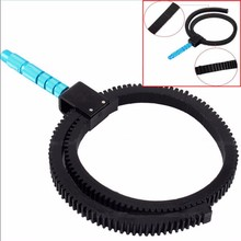 Metal Grip Follow Focus Gear Ring Focusing Belt for Canon Nikon DSLR Camera Lens DSLR Rig Camcorder