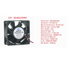 цена на Low Noise!dc 24v refrigeration unit fan 60 25mm with CE and UL Since 1993
